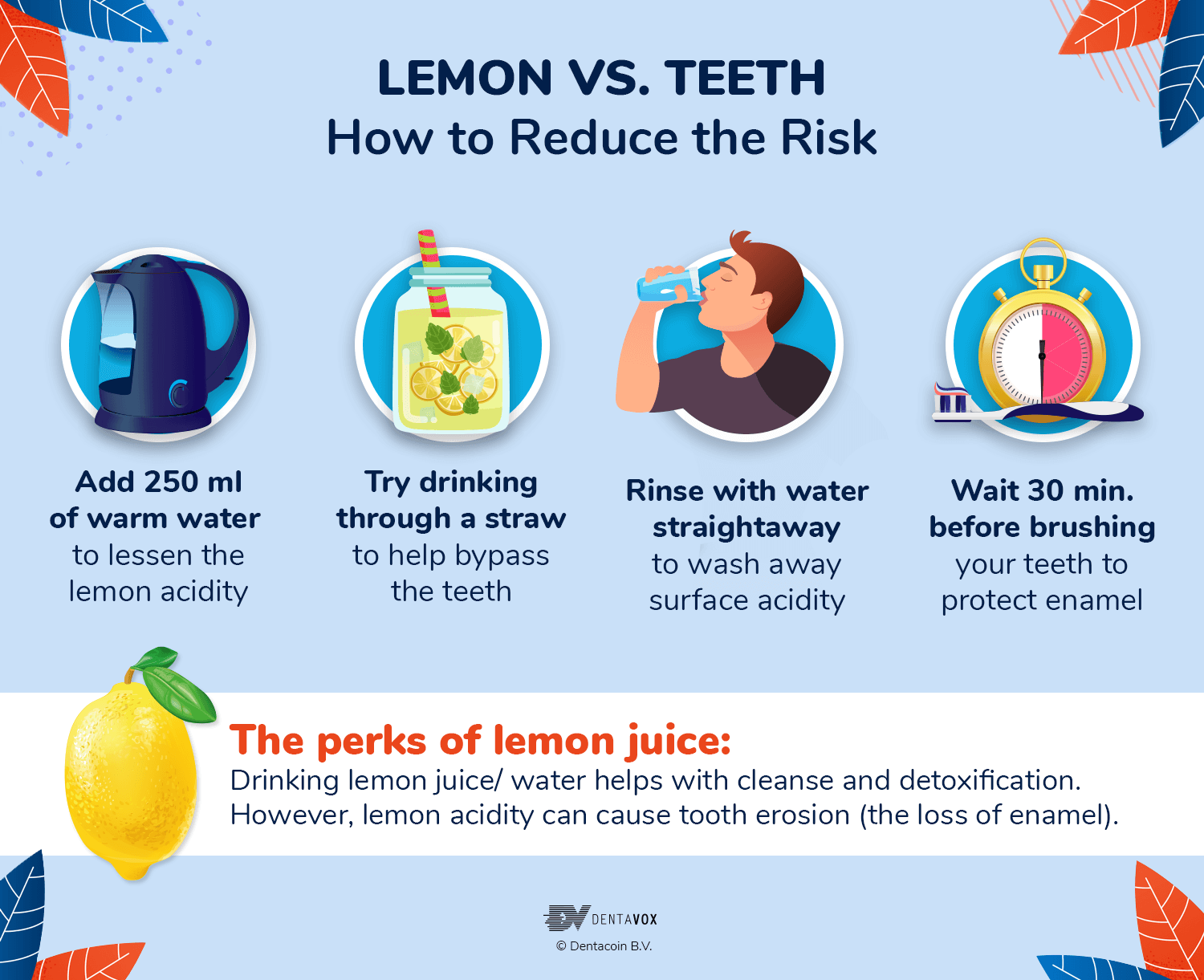 lemon oral health teeth tips dentavox