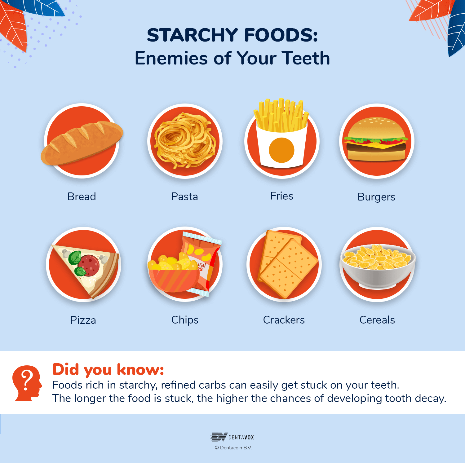 starchy foods oral health myths facts dentavox